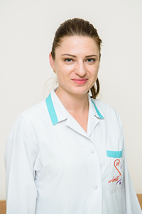 Lilia Cotovan, medic internist