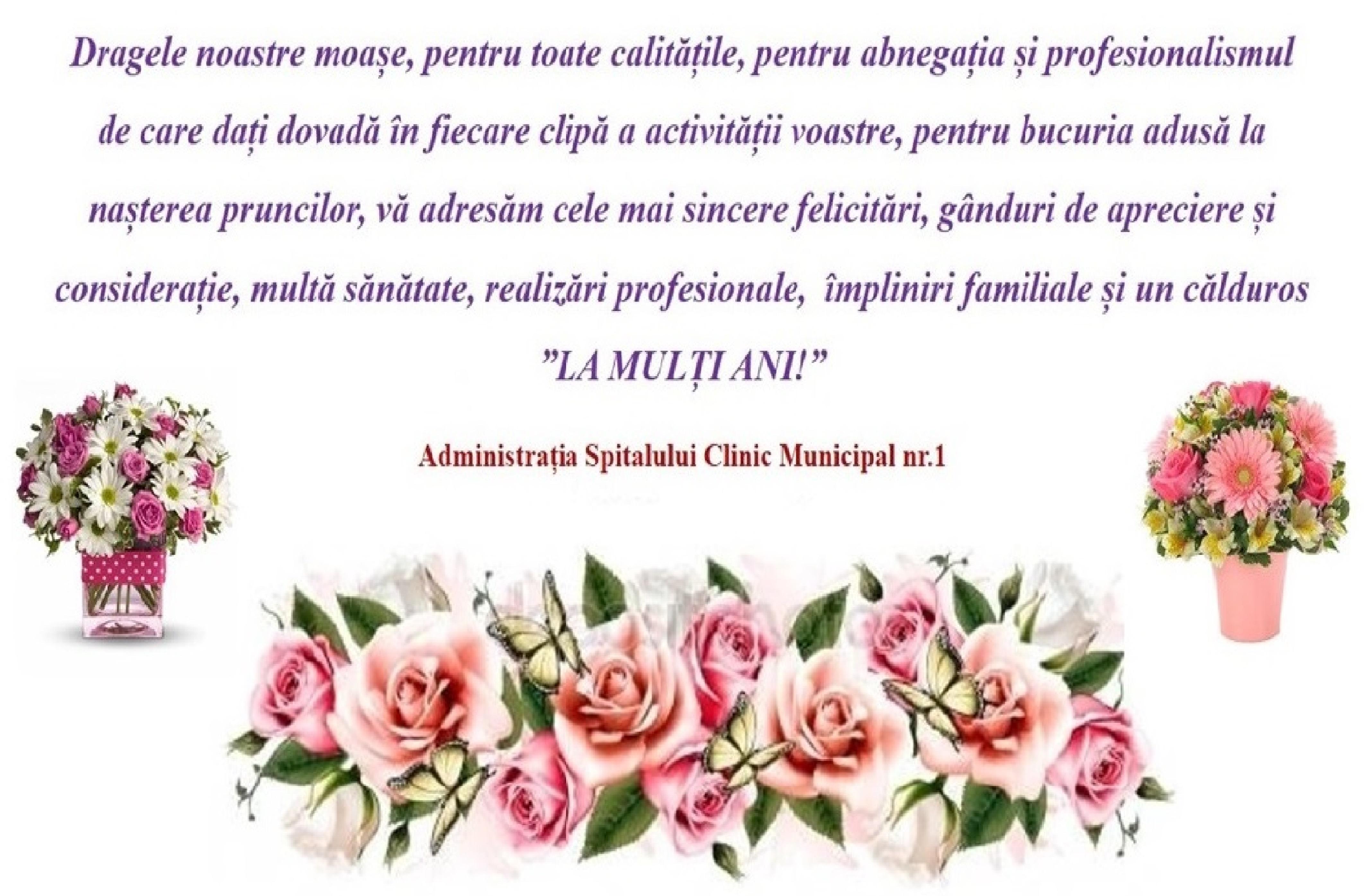 Mesaj de felicitare cu prilejul Zilei Internaționale a Moașei