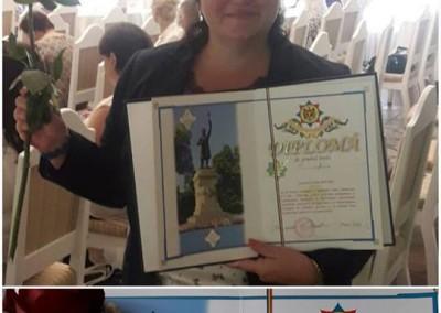 Diploma Dorinei Rotaru