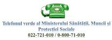 Linia Fierbinte al Ministerul Sănătății, Muncii și Protecției Sociale al Republicii Moldova
